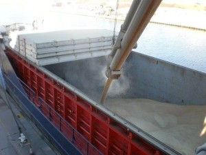 grain storage treated with aquasteel rust converter