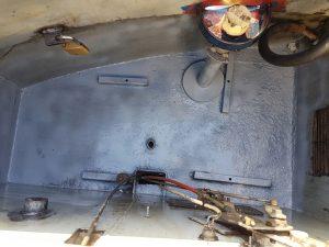 narrow boat Aquasteel rust converter protection