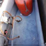 narrowboat treatment with aquasteel rust converter