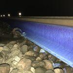 Aquasteel rust converter for railway lines