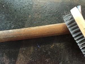 aquasteel rust converter used on sash window weights