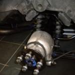 Jaguar XJS coated with Aquasteel rust converter