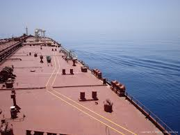 ship tanker deck treated with Aquasteel rust converter