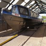 narrowboat Rose finished aquasteel rust converter treatment