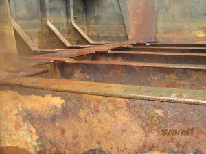 before using aquasteel rust converter
